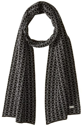 Dale of Norway Stjerne Scarf (J-Black/Off-White Melange) Scarves