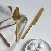 Gold Cake + Knife Set