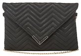 Charlotte Russe Chevron Quilted Crossbody Bag