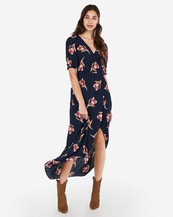 a7aebedd2386b Tulip Hem Wrap Dress - ShopStyle