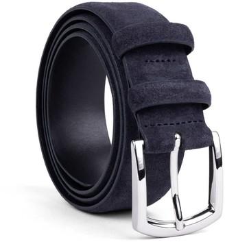 Dalgado Handmade Leather Belt Blue Alfredo
