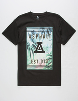 Asphalt Yacht Club Crystal Fauna Mens T-Shirt