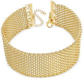 INC International Concepts Wide Mesh Choker Necklace, Only at Macy's