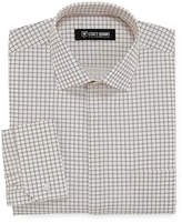 Stacy Adams Long Sleeve Woven Grid Dress Shirt - Big