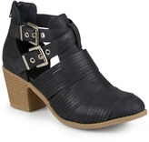 Journee Collection Tiff Cutout Ankle Boots