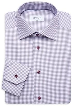 Eton Slim-Fit Check Dress Shirt