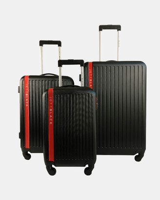 Jett Black Jetsetter Series 3 Luggage Set