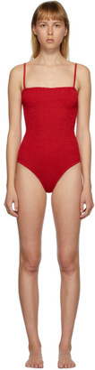 Hunza G Red Maria Swimsuit