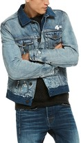 Scotch & Soda Heroes Distressed Denim Jacket