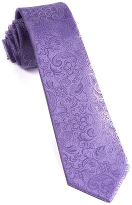 Tie Bar Ceremony Paisley Lilac Tie