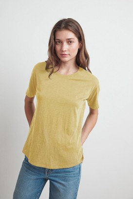 Velvet by Graham & Spencer Tera Cotton Slub Tee
