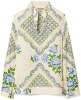 Tory Burch Printed Cotton Tunic