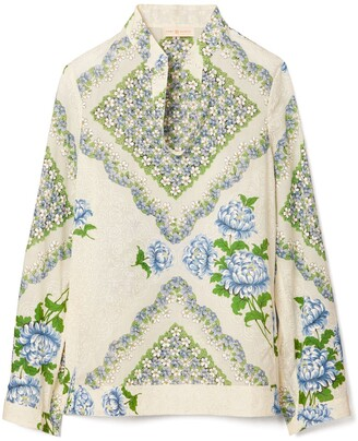 Tory Burch Printed Cotton Tunic