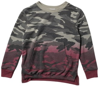 Splendid Dip Dye Camo Top (Big Girls)