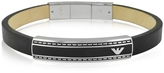 Emporio Armani Stainless Steel Signature Men's Bracelet