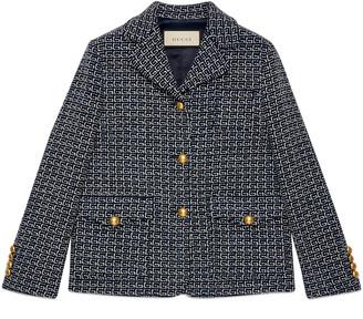Gucci Square G wool jacket