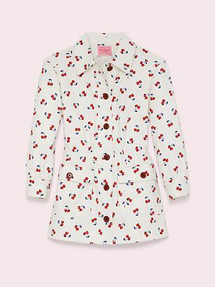 Kate Spade Cherry Toss Jacket