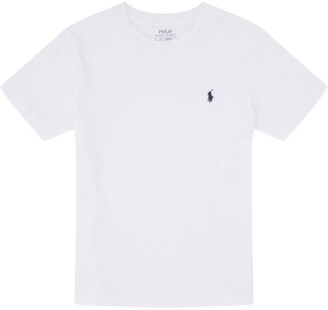 Ralph Lauren Kids Logo Embroidered T-Shirt (5-7 Years)