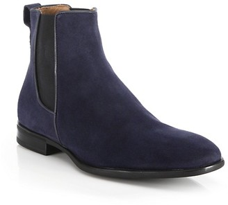 Aquatalia Adrian Suede Chelsea Boots