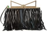 Sara Battaglia Lady Me fringed leather cross-body bag