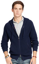 Polo Ralph Lauren Merino Wool Full-Zip Hoodie