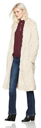 Angie Women's Long Furry Coat