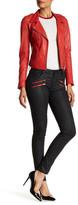Etienne Marcel Red Zip Skinny Jean
