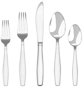 Hampton Forge Absolute Satin Stainless Steel Flatware Set (20 PC)