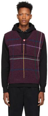 Noah NYC Purple Wool Sweater Vest
