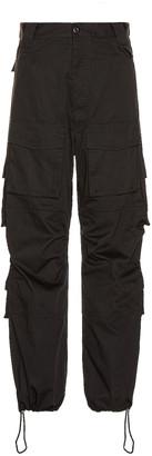 Balenciaga Cargo Pants in Black   FWRD