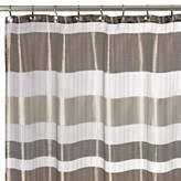 Bed Bath & Beyond Metallic Stripe 72-Inch x 72-Inch Shower Curtain