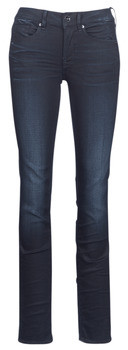 G Star Raw MIDGE MID STRAIGHT women's Jeans in Blue