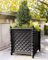 Neiman Marcus Square Black Planter