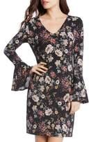 Karen Kane Women's Floral V-Neck Bell Sleeve Dress