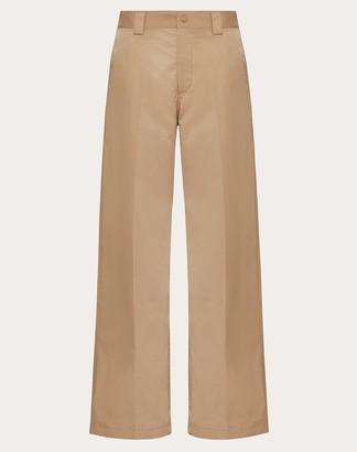 Valentino Straight Fit Pants Man Camel 46