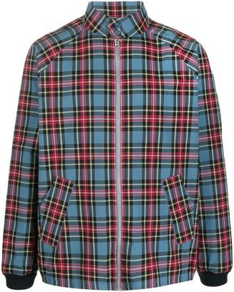 YMC Tartan-Print Shirt Jacket
