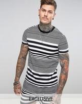 Reclaimed Vintage Inspired Ringer T-Shirt In Stripe