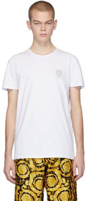 Versace Underwear White Logo T-Shirt