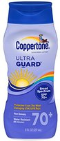 Coppertone Ultraguard Sunscreen Lotion, SPF 70+, 8 Ounce Bottle