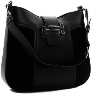 Tod's Dote Logo Buckle Shoulder Bag