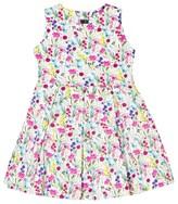 Oscar de la Renta Floral Party Dress