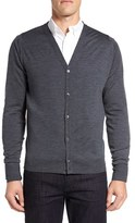 John Smedley Men's 'Bryn' Easy Fit Wool Button Cardigan