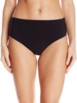 Christina Women's Solid High Waist Bikini Bottom