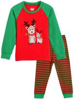 GSJammies Reindeer Christmas 2 Piece Children Pajama
