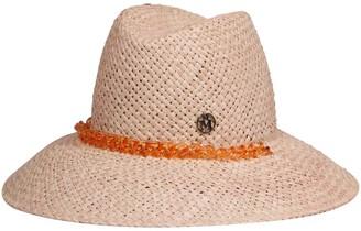 Maison Michel Kate Chain Fedora Hat