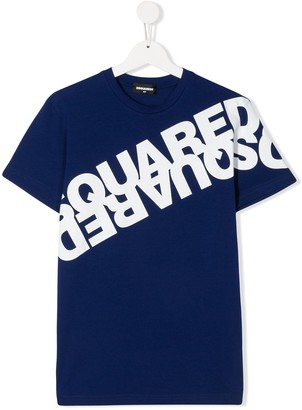 DSQUARED2 TEEN logo-printed T-shirt