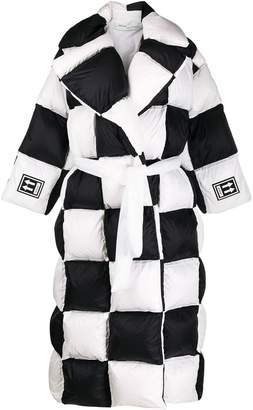 Off-White Off White 3d large checkered puffer