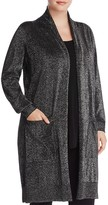 MICHAEL Michael Kors Long Metallic Cardigan