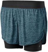 Champion Women's Vapor 6.2 Double-Layer Running Shorts