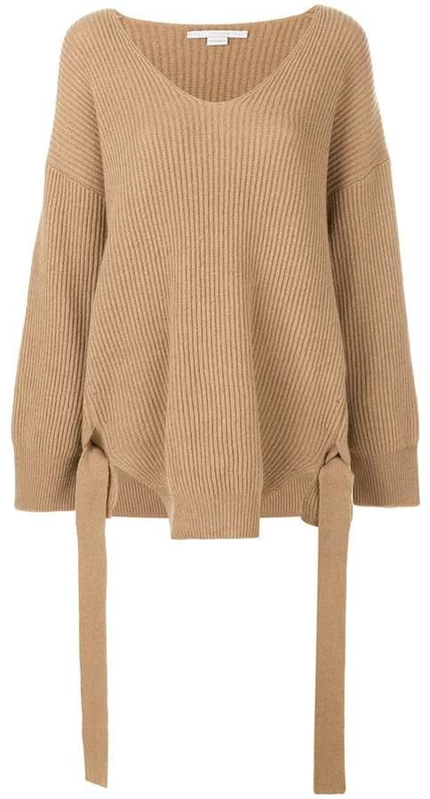 Stella McCartney oversized ribbed jumper